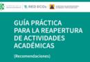 México: Red Ecos presenta Guía Práctica para la reapertura de actividades académicas