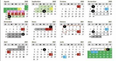 Presentado por titular de SEP. (2020). Calendario escolar 2020-2021. Palacio Nacional México. Recuperado de https://laverdadnoticias.com/mexico/Calendario-escolar-2020-2021-SEP-establece-190-dias-de-clases-20200805-0269.html