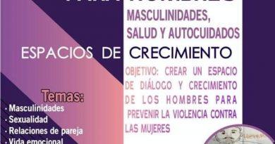 Grupos de reflexión: Masculinidades, salud y autocuidados