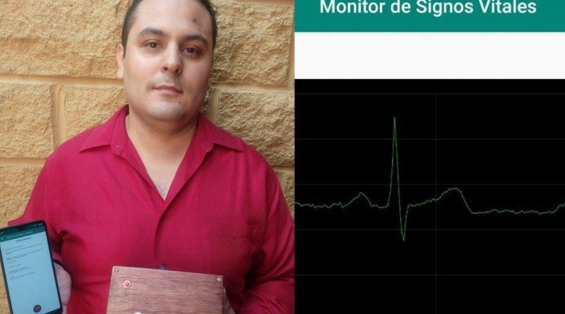 Mexicano desarrolla instrumento para detectar síntomas del coronavirus.