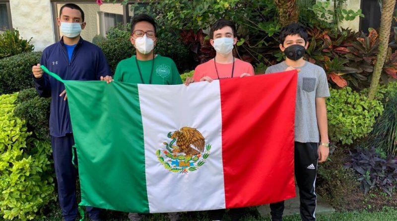 México obtuvo medalla de oro en matemáticas