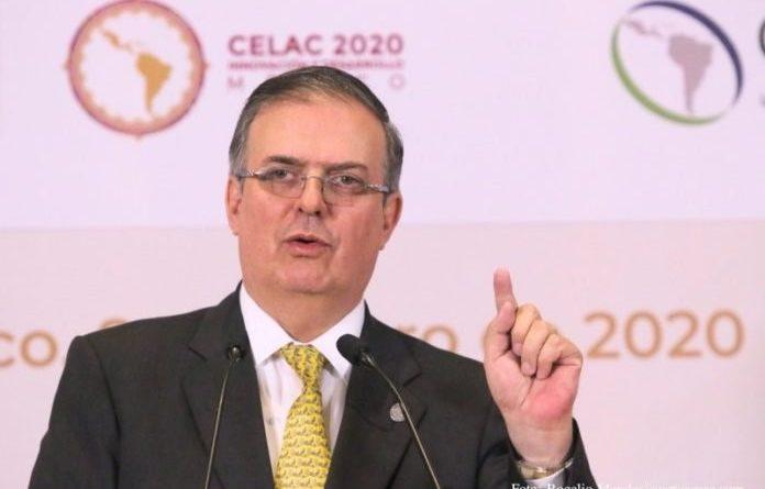 Ebrard anuncia el comienzo de la agencia espacial latinoamericana.