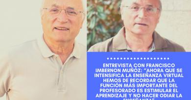 Entrevista con Francisco Imbernon Muñóz: