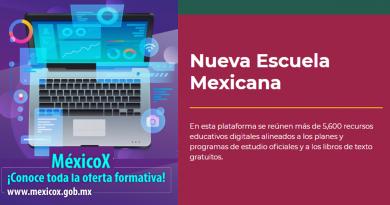México: Maestros cuentan con plataforma y recursos digitales para fortalecer su docencia
